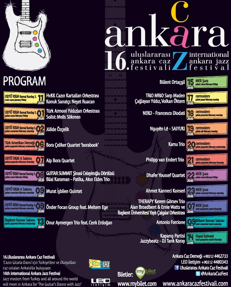 16. Uluslararası Ankara Caz Festivali