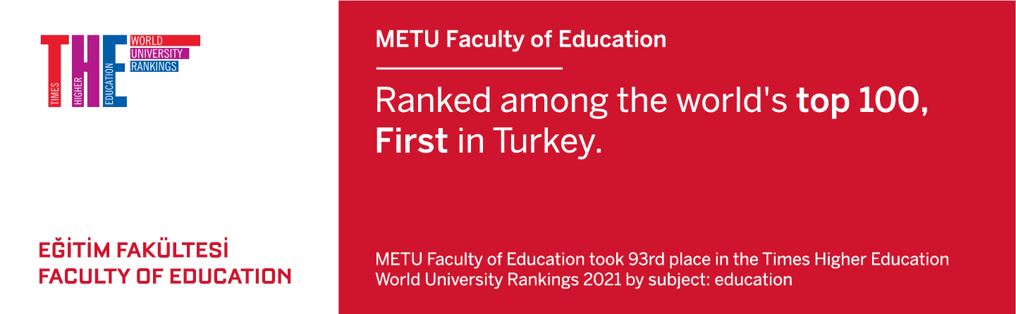 METU Faculty of Education Ranked among the world's top 100, First in Turkey
