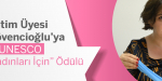 """Dr. Öğretim Üyesi Dicle Düvencioğlu'ya LOréal-UNESCO """"Bilim Kadınları İçin"""" Ödülü"""